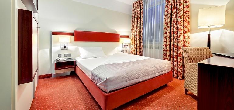 Fünf verschiedene Zimmerkategorien im Angebot für Übernachtungen im Hotel in Münster