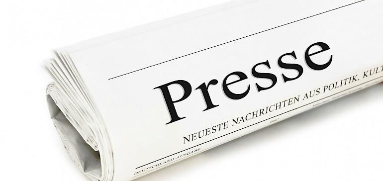 Laden Sie sich im Pressebereich unsere Pressemeldungen und Fotos runter