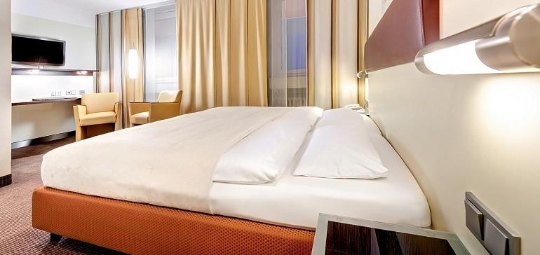Übernachtung im Standard Doppelzimmer im Kaiserhof Münster