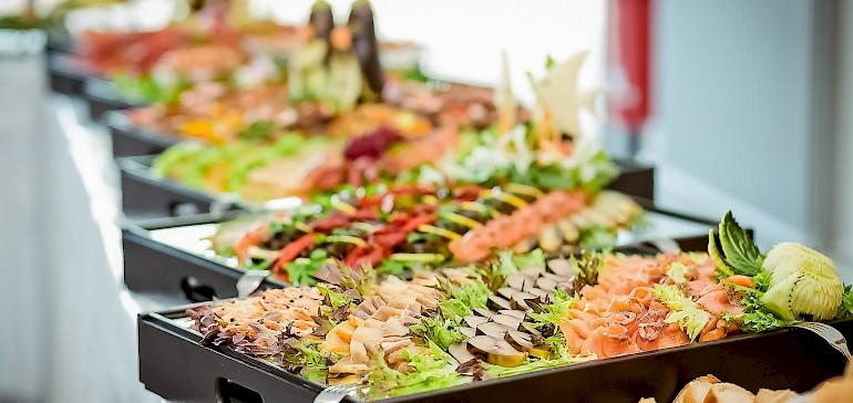 Leckeres Essen für Familienfeste