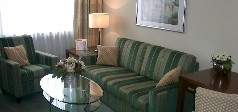 Gemütliches Ambiente in den Suiten im Kaiserhof