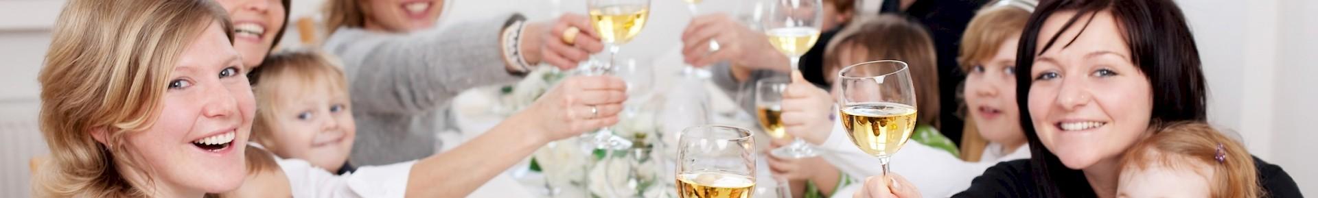 Familienfeste können Sie ideal im Hotel Kaiserhof Münster feiern