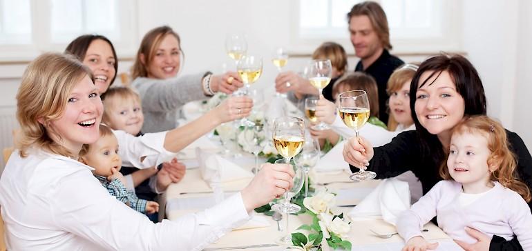 Familienfeste organisieren