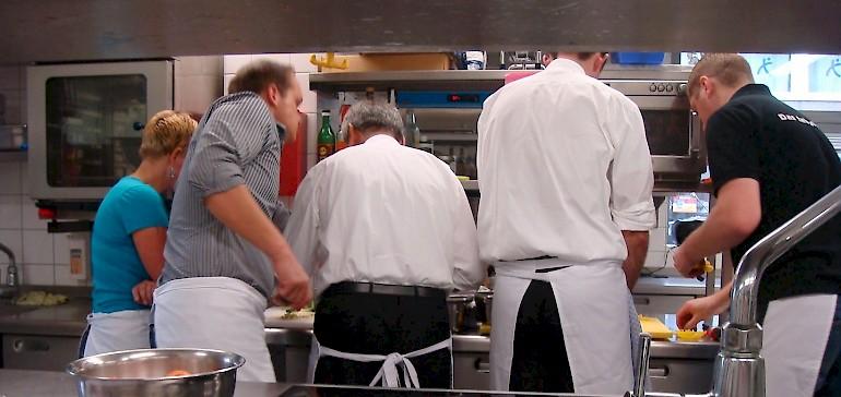 Kochkurs für Anfänger im Restaurant Gabriel's in Münster