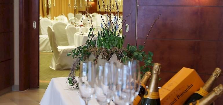 Für Ihre Betriebsfeier in Münster bieten wir Räumlichkeiten für kleine und große Gesellschaften