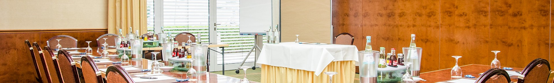 Der Veranstaltungsraum Kaiser Wilhelm gehört zum Kaisersaal und eignet sich für Tagungen und Feierlichkeiten