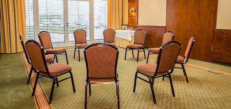 Der Tagungsraum Kaiser Ferdinand ist ideal für Gruppen bis 25 Personen
