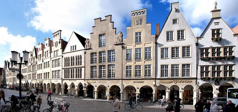 Machen Sie eine interaktive Stadtführung bei Ihrem Firmenevent in Münster