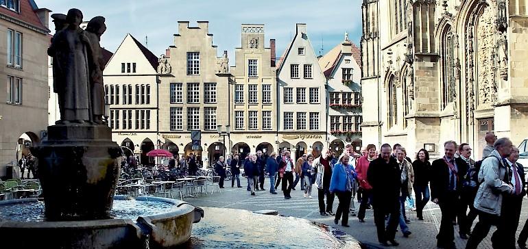 Wir haben Ihnen einige Informationen für Ihre Reise nach Münster zusammengestellt