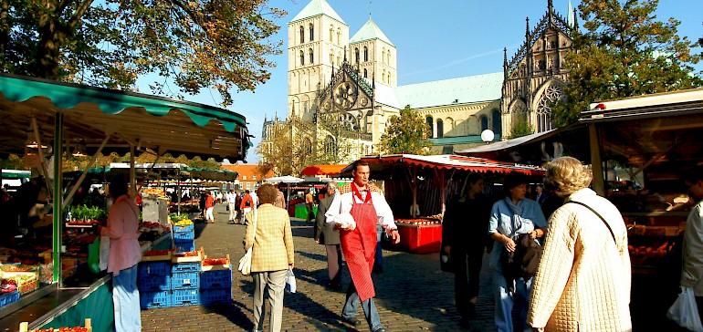 Wochenmarkt in Münster