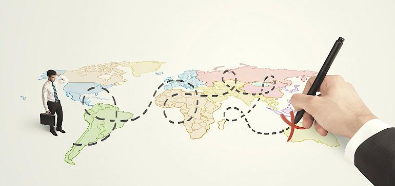 Machen Sie sich bei einer Business-Reise mit den Knigge-Regeln des besuchten Landes vertraut