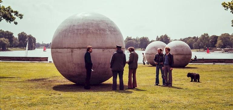 Alle zehn Jahre finden die Skulpturprojekte in Münster statt, einige Skulpturen bleiben auf Dauer