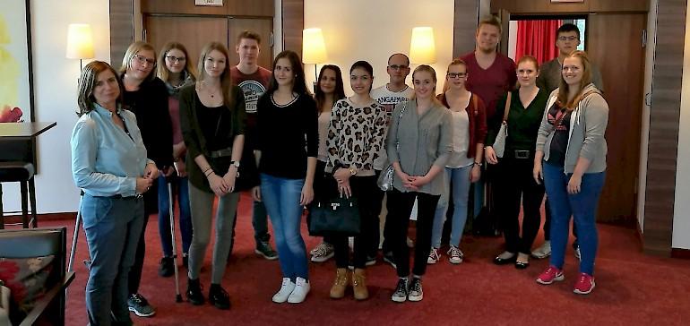 Unsere Azubis haben ein neue eröffnetes Kettenhotel in Münster besucht