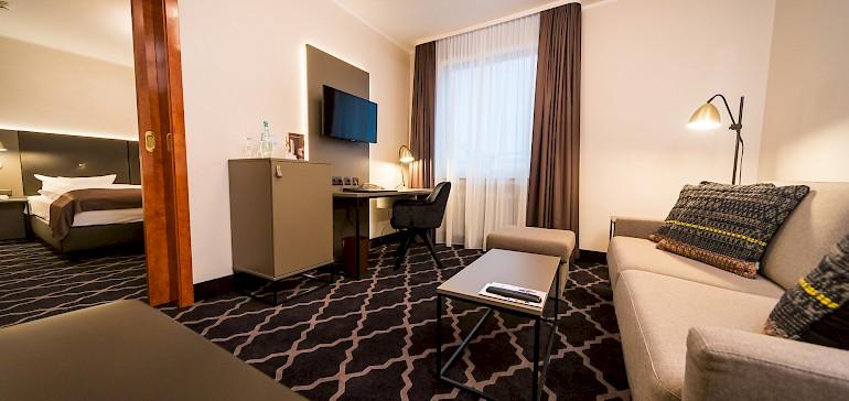 Gönnen Sie sich einen Aufenthalt in unseren großzügig geschnittenen Suiten