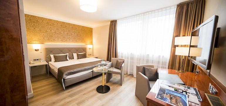 Einige Zimmer sind mit Allergiker-freundliche Böden ausgestattet