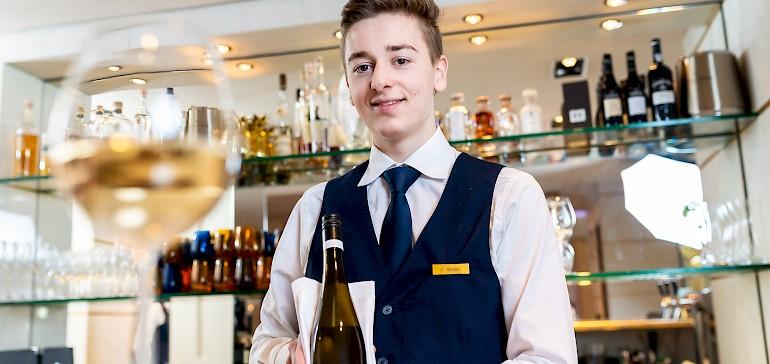 Der herzliche Service kümmert sich kompetent um seine Gäste