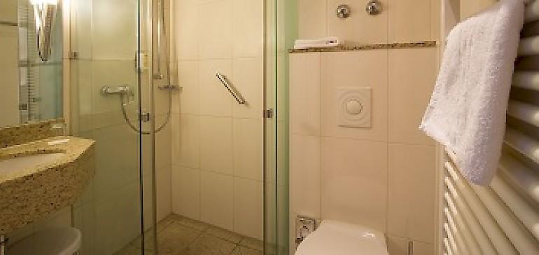 Beispiel Bad Standard Einzelzimmer