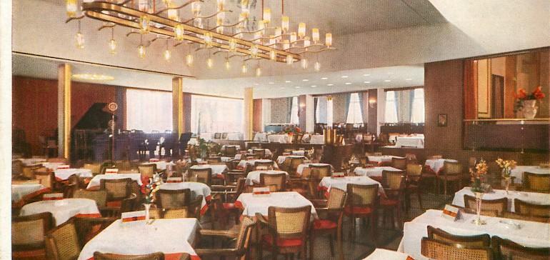 Kaiserhof-Gastronomie in der Nachkriegszeit