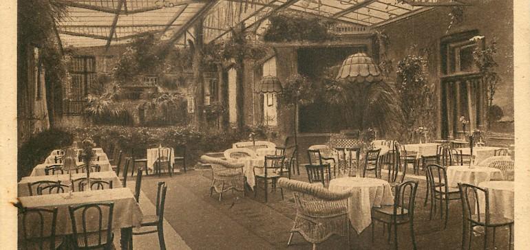 Ehemaliger Wintergarten des Hotel Kaiserhof Münster