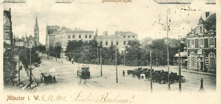 Postkarte aus den Anfangsjahren des Kaiserhofs