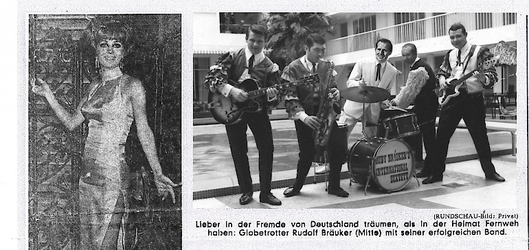 Die Musiker um Prof. Dr. Rudolf Andreas Bräuker waren damals sehr bekannt
