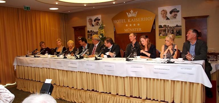 Beginn der Pressekonferenz im Kaisersaal