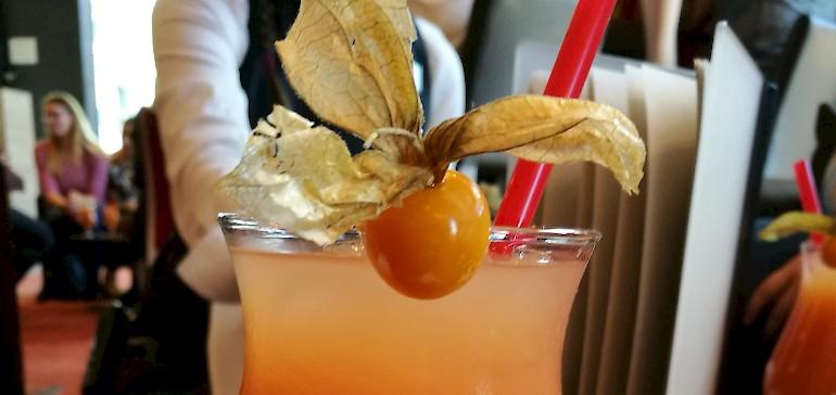Erfrischender Cocktail zum Abschied