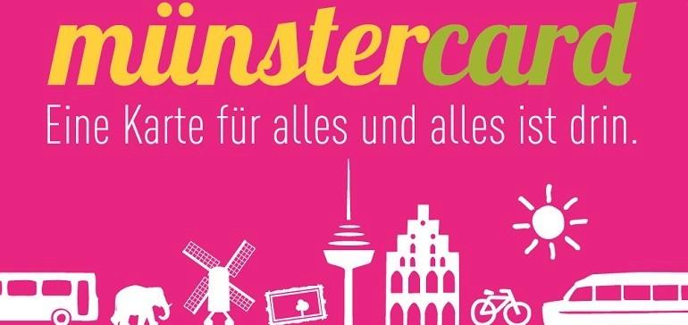 Münstercard - Eine Karte für alles!