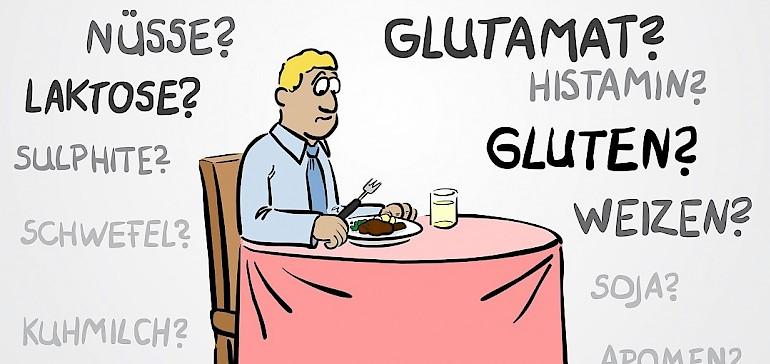 Mit einer Allergie ein Restaurant aufsuchen ist für viele Betroffene eine Herausforderung