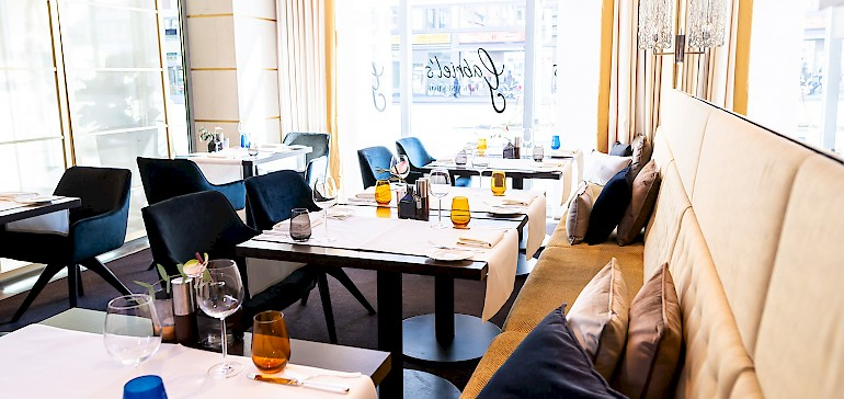 Das Restaurant ist täglich für das Frühstück sowie Montag- bis Samstagabend für das Abendessen geöffnet