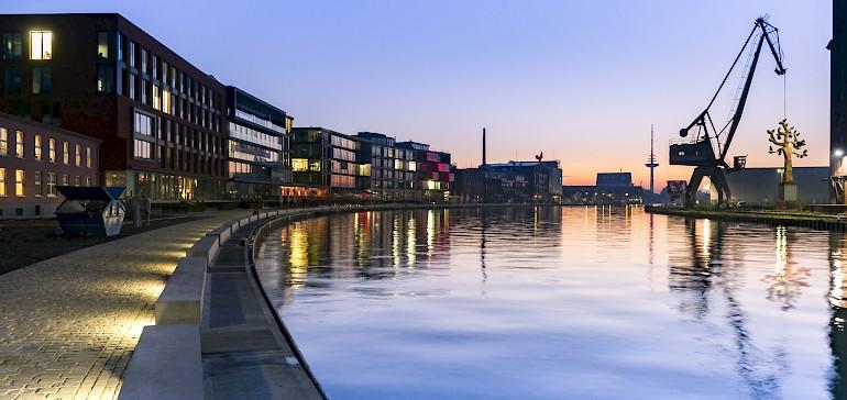Das neue Szene-Viertel in Münster: Der Hafen