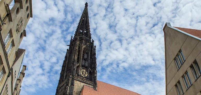 Die Kirche Lamberti ist wegen seiner grausamen Geschichte berühmt berüchtigt
