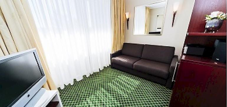 Zentrales Hotel in Münster mit Familienzimmern (Schlafcouch)