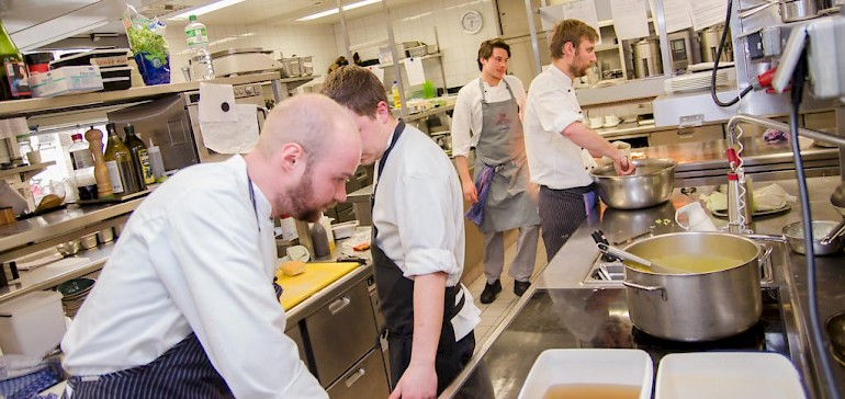 In der gehobenen Gastronomie ist die Ausbildung besonders anspruchsvoll