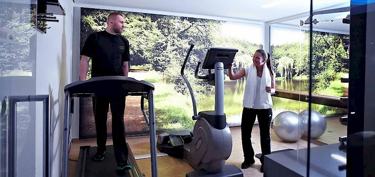 Ihre Fitnessroutine können Sie im Hotel Kaiserhof auch auf Reisen fortführen
