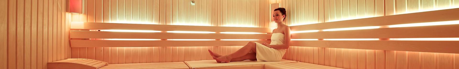 Zur Auswahl stehen im Kaiserhof Münster eine Biosauna, Finnische Sauna und ein Dampfbad
