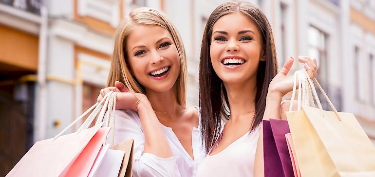 Verbinden Sie Shopping, Schlemmen und Wellness mit dem Hotelarrangement für eine Nacht