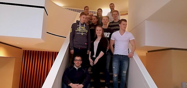 Teamfoto im Stadthotel