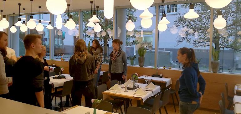 Das Restaurant im Stadthotel