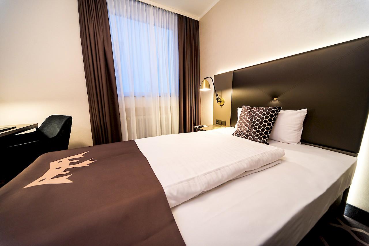 Bernachtung m nster hotelzimmer doppel einzel twin for Hotelzimmer teilen