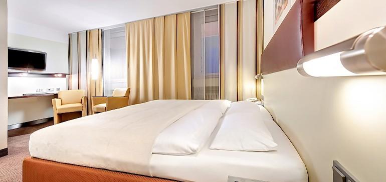 Wohnbeispiel Doppelzimmer Standard mit getrennter Matratze