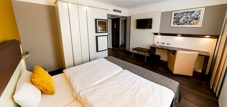 Wohnbeispiel Hotelzimmer in Münster -Stadt in der Kategorie Doppelzimmer Superior