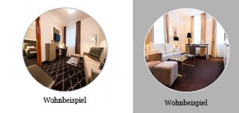 Vergleichsübersicht Suiten und Kaisersuiten