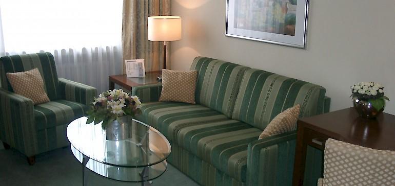 Wohnzimmer traditionelle designte Suite