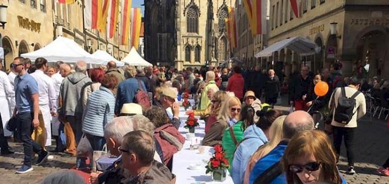 Münster feiert gerne und viel. 102 Open-Air-Feste stehen 2018 auf der Agenda!