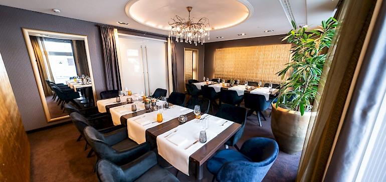 Das zum Restaurant Gabriel's gehörende Séparée kann exklusiv gemietet werden
