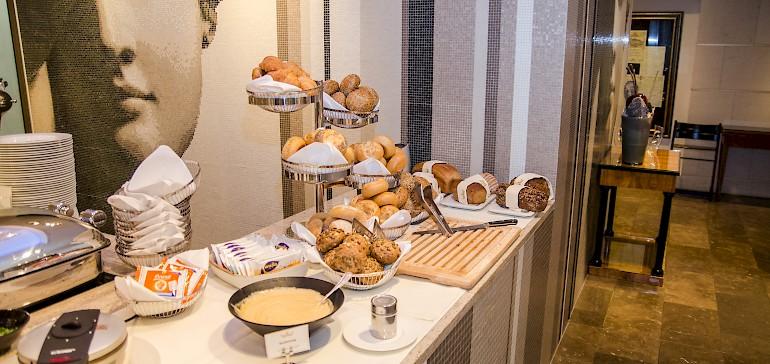 Das Highlight bei Ihrem Frühstück in Münster Innenstadt sind selbstgemachte, heiße Waffeln