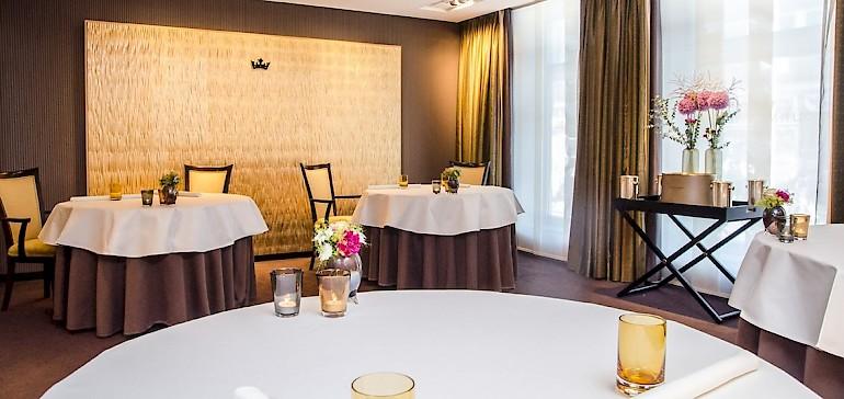 In unserem Restaurant können Sie im Séparée Ihre Hochzeit feiern