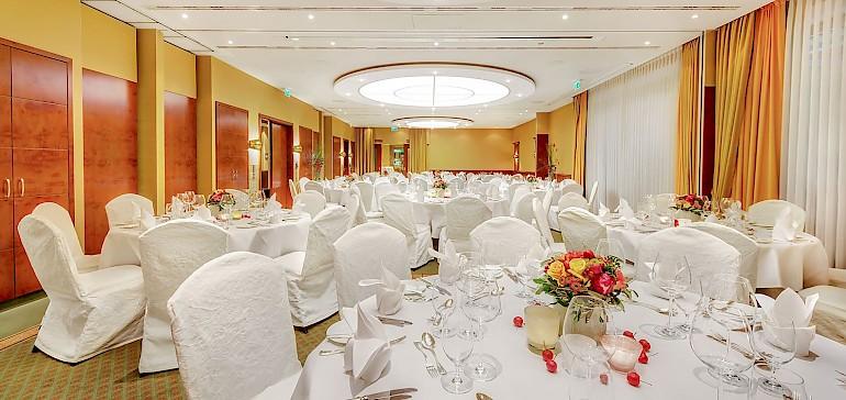 Großer Veranstaltungsraum für Hochzeiten in Münster mit bis zu 100 Personen