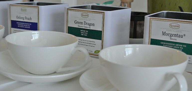 Eine British Teatime eignet sich hervorragend für den Start einer Familienfeier